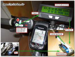 Cycle Analyst V2.25 with Rev 11 PCB + Display 790 + PAS proportional